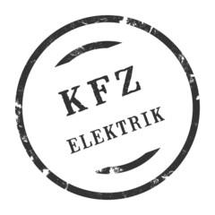 sk291 - KFZ-Stempel - Kfz Elektrik kfz52 g2779