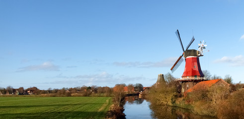 Greetsiel, traditional Windmill