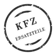 sk297 - KFZ-Stempel - Kfz Ersatzteile kfz58 g2785