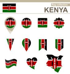 Kenya Flag Collection