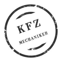 sk302 - KFZ-Stempel - Kfz Mechaniker kfz63 g2790
