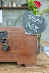 The wood tips box