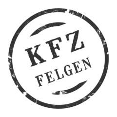 sk310 - KFZ-Stempel - Kfz Felgen kfz71 g2798