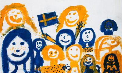 Schwedische Kinder