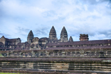 Wall Of Angkor Wat