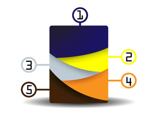 abstract rectangle number choice