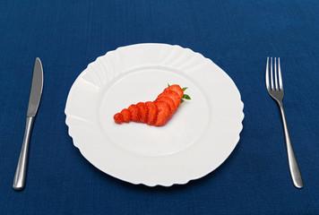 Creative strawberry