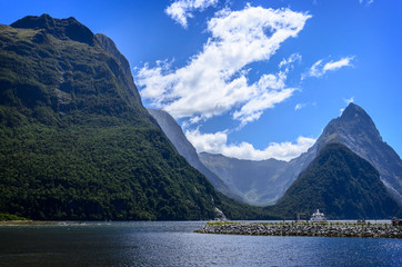 Milford Sound. New Zealand