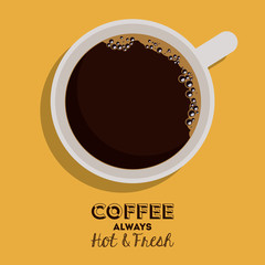 Coffee design,vector illustration.