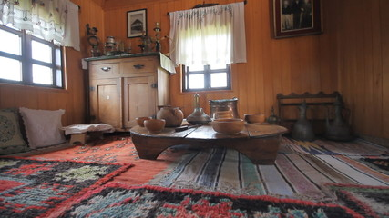 Traditional bosnian old house