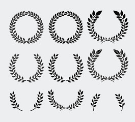 Wreath design,vector illustration.
