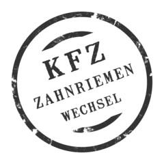 sk343 - KFZ-Stempel - Kfz Zahnriemenwechsel kfz104 g2831
