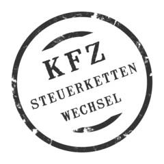 sk344 - KFZ-Stempel - Kfz Steuerkettenwechsel kfz105 g2832