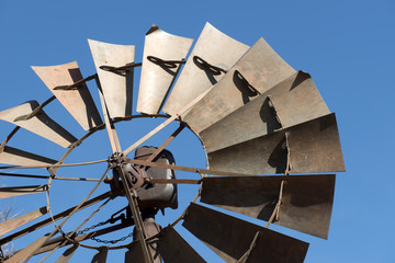 Old wind mill on Route 66
