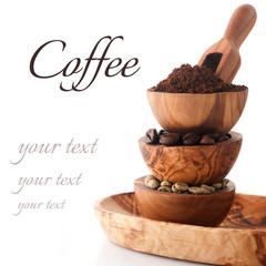 various kind of coffee