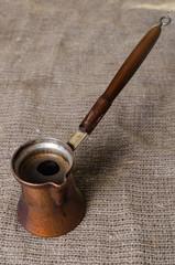 image of copper jezva