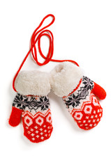 Knitted Mittens