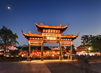 China Nanjing Wooden Gate lights