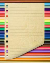 crayons de couleurs