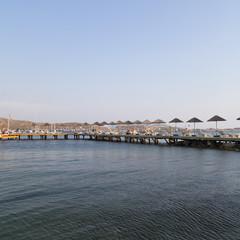 Gumbet beach, Bodrum, Turkey