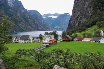Undredal village