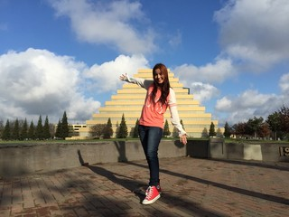 pyramid modeling