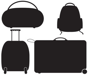 Luggage Silhouettes
