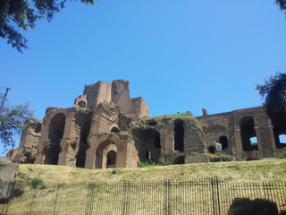 Caracalla Roman ruins
