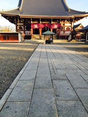 日本建築と道