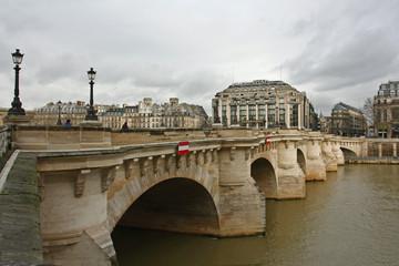 Le Pont neuf, paris, france