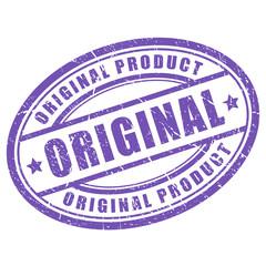 Original oval stamp