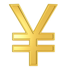 Illustration of yen currency