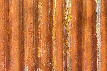 old rusty corrugated iron texture
