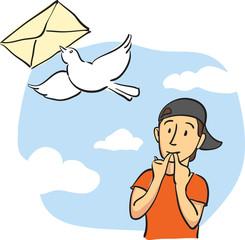 sending mail message