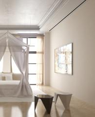 Schlafzimmer im Licht (detail)