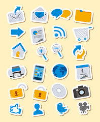 Web icons, Apps, set Vector