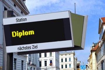 Anzeigetafel 7 - Diplom