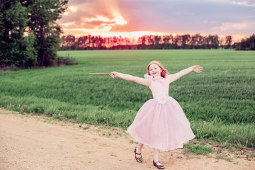 little fairy outdoor