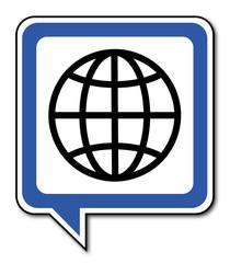 Logo globe.