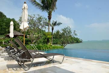 A sea view villa