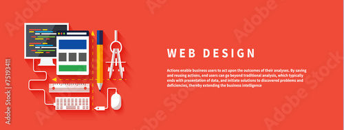 Web design. Program for design and architecture. - 75193411