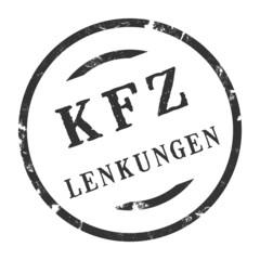 sk384 - KFZ-Stempel - Kfz Lenkungen kfz145 g2872