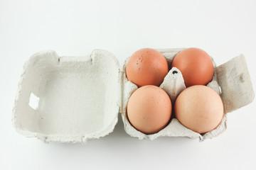 Contenitore con uova