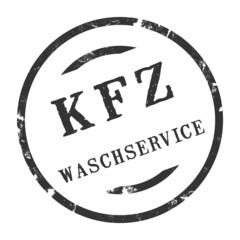 sk397 - KFZ-Stempel - Kfz Waschservice kfz158 g2885
