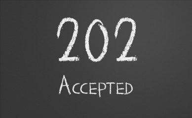 HTTP Status code 202 Accepted