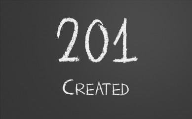 HTTP Status code 201 created
