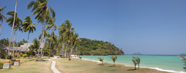 Beach at Phi Phi Don Island