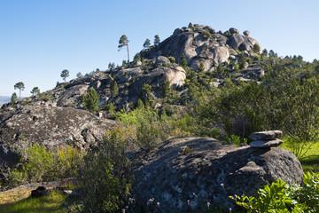Cerro de La Laguna en la Sierra de Gredos
