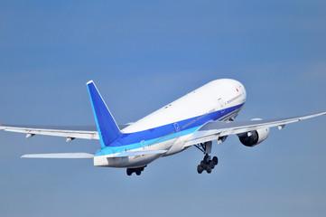旅客機の離陸