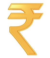 Illustration of rupee symbol